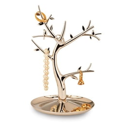 Nickel-Plated Jewelry Tree