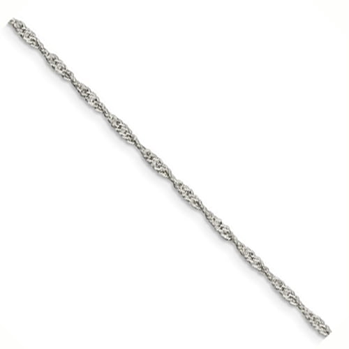 Sterling Silver 1.75mm Singapore Chain